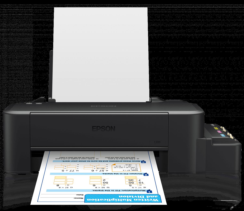 Impressora Jato De Tinta Epson Ecotank L120 Usb Impressoras